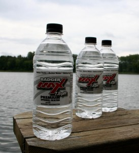 BadgerMax Bottled Water