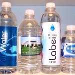 Custom Bottled Water Photo 4 Sizes